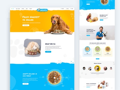 The super amazing project ( woofly.ca website ) online store online shop petshop shop petfood pet web minimal creative home page home webdesign ui ux design website