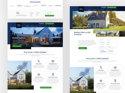 Building Company Website