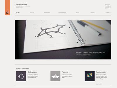 Portfolio redesign web design international swiss
