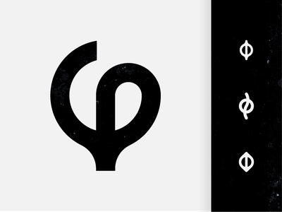 Φ monochrome symbol identity branding logo