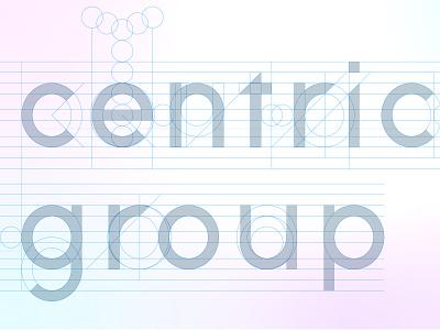 Alphabet construction logo design color brand icon identity branding grid typography