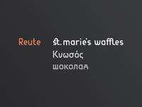 Reute update