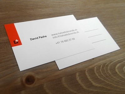 Business card collateral stationery print