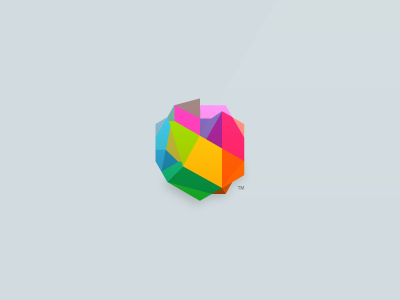Alternative branding logo icon color identity paper