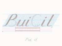 Serif italic logotype 2