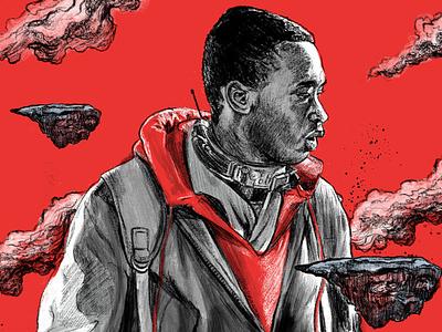 Captive State captivestate hollywood movieposter procreate illustration