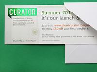 Curator: Summer Launch invites