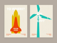 Defining A Sustainable Future - 2 Posters