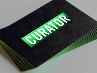 Curator Coal-Cards