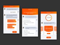 Job portal Chatbot flow