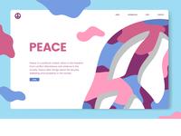 Peace design concept