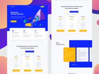 CryptoMinner – Landing page
