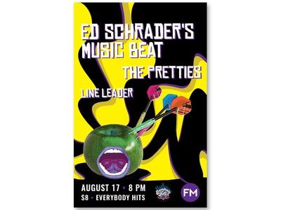 Ed Schrader's Music Beat venue music poster show flyer