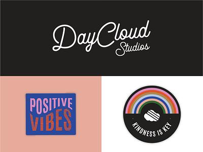 DayCloud Studios Stickers logo identity branding design