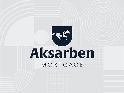 Aksarben Mortgage Logo Design branding omaha logo design