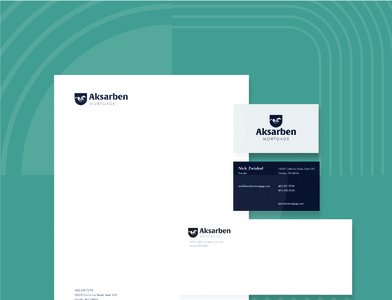 Aksarben Mortgage Stationery