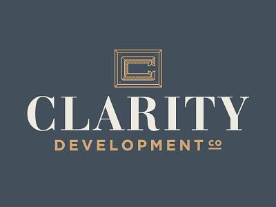 Clarity Development Co monogram clarity development