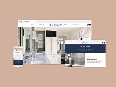 Z Design Website uxui website identity design branding