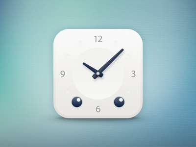 Sleepbot for iOS button sleepbot pillowbot sleep ios clock app icon ios icon cute blue iphone logo white bot