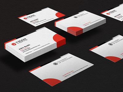 YWAM Tokyo 名刺 tokyo identity red print graphic 名刺 business cards
