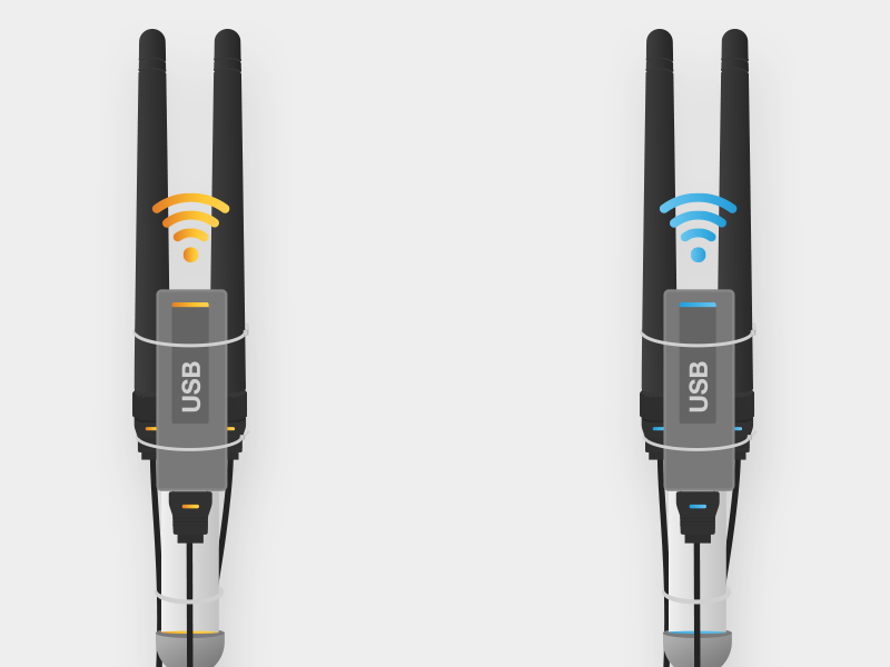 Dribbble antenna