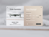 Mavic pro checkout page full resolution
