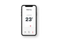 Daily UI Challenge #021 Home Monitoring Dashboard