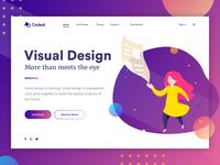 Landing page concept - Visual Design