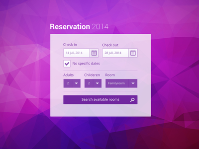 Hotelpad Reservation reservation date vacation widgets ipad icons search hotel holiday rooms flat ui
