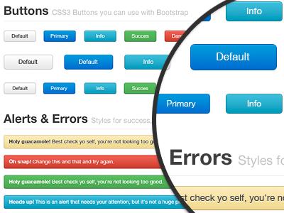 Bootstrap freebie for webdesign bootstrap css3 html5 ui freebie webdesign