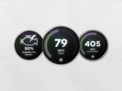 Obd Widgets by RepixDesign on Dribbble