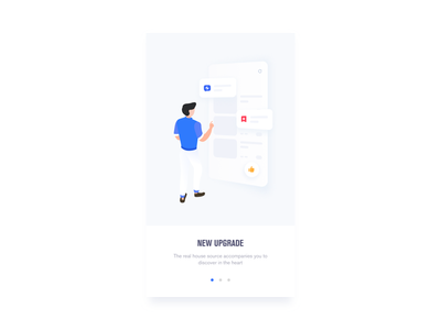 NEW UPGRADE sketch illustration color ios mobile app ui