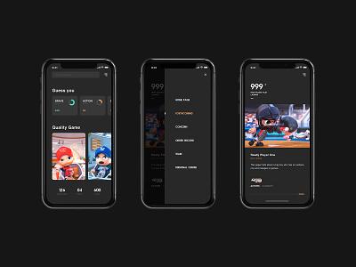 Love to play icon ios ui design mobile app ui