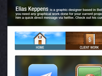 EliasKeppens.com design