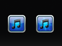 iPhone iTunes replacement icons