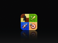 Realistic GameCenter icon