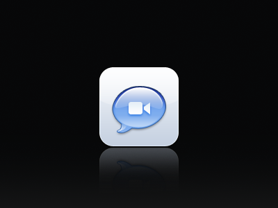iChat for iOS just kidding really icon icons apple ichat osx ios