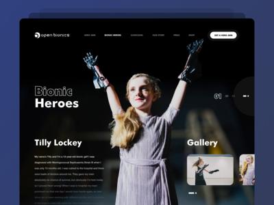 Open bionics site concept
