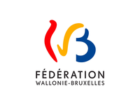 Animated logo of Wallonia-Brussels Federation animated illustration motion design logo animation animated logo