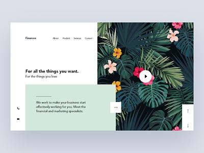 Landing Page Design webdesign ui subscribe screen split social photo mobile page landing colors design