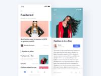 Fashion Blog App