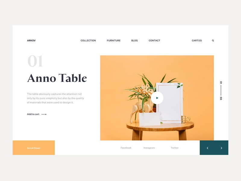 Anno Table icon typography style fireartstudio fireart landingpage minimal clean app branding flat interface web ux design ui