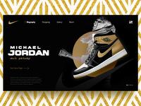 Nike Air Jordan UI/UX