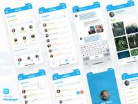 Microsoft Messenger UI-UX