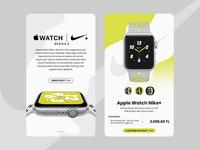 Apple Watch Nike+ UI/UX