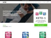 Ecommerce Website Design - Keto1