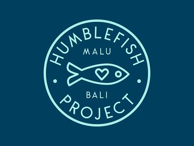 Humblefish Project Logo fairtrade fish bracelets jewelry badge brand icon nonprofit design logo branding