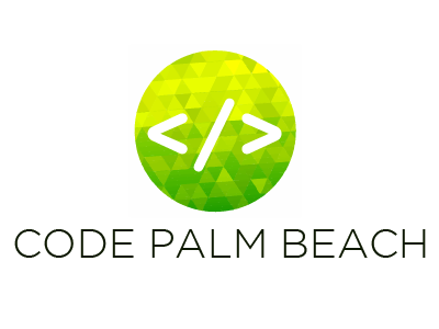 Code Palm Beach Logo logo
