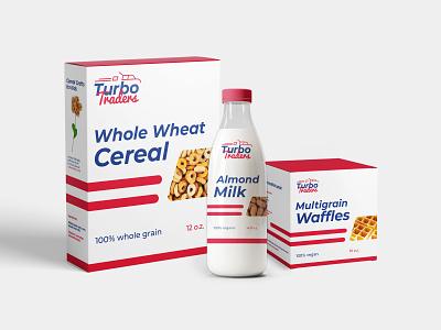 Turbo Traders Branding packaging branding