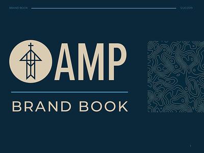 AMP Brand Book design logo branding